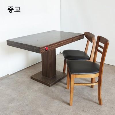 목재의자 테이블 세트