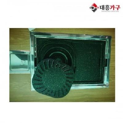 사각로스타(LPG/LNG가능) 신품 사이즈 (550*360)