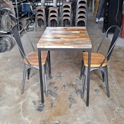 빈티지 2인 테이블 (4개)(700*700)