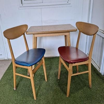 2인 나비 테이블세트