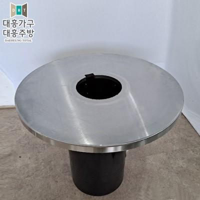스텐레스 테이블(900파이. 타공25.5cm) (7EA)