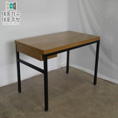 무늬목 서랍 테이블 (600x1000) - 3EA