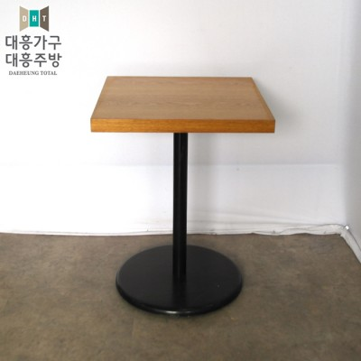 목재테이블 550x550 -6EA