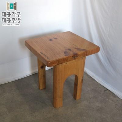 목재 테이블 600x600 -4EA