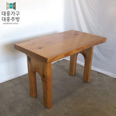 통나무 테이블 650x1100 -9EA